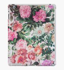 Vinilo o funda para iPad Vintage verde lavanda rosa país floral