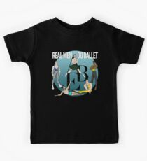 Real Men Do Ballet Group Kids T-Shirt