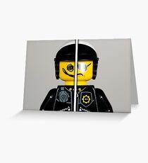 Good Cop - Bad Cop  Greeting Card