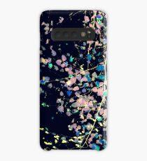 Nature Pattern # 4 - Birch (Blue) Case/Skin for Samsung Galaxy
