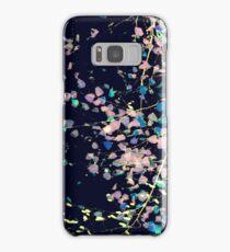 Nature Pattern # 4 - Birch (Blue) Samsung Galaxy Case/Skin