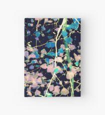 Nature Pattern # 4 - Birch (Blue) Hardcover Journal