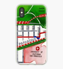 San Francisco map - Inner Sunset map iPhone Case
