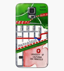 San Francisco map - Inner Sunset map Case/Skin for Samsung Galaxy