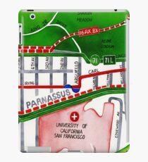 San Francisco map - Inner Sunset map iPad Case/Skin