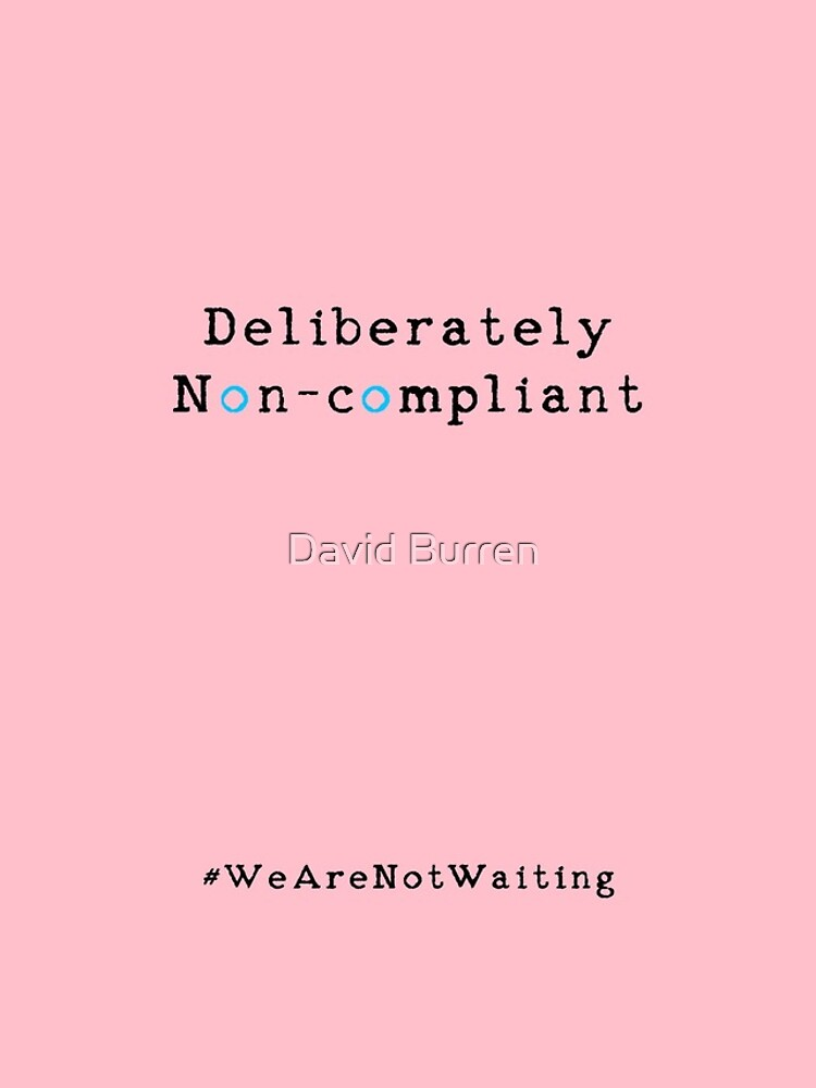 Deliberately non-compliant - pink phone by DavidBurren