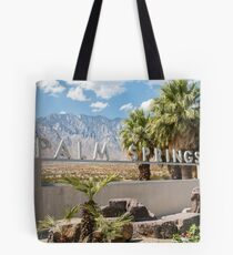 Palm Springs Sign Tote Bag