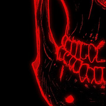 Glow Skull by KevWeldon
