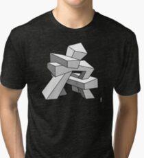 Croocked Sculpture Tri-blend T-Shirt