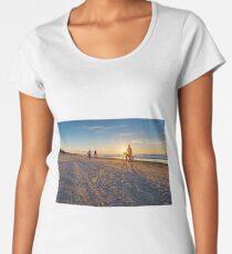 Sunset on Baltic Women's Premium T-Shirt