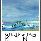 Lido Poster Gillingham Strand by Steven House