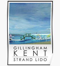 Lido Poster Gillingham Strand Poster