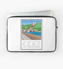 Lido Poster Folkestone Saltwater Laptop Sleeve