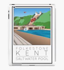 Lido Poster Folkestone Saltwater iPad Case/Skin