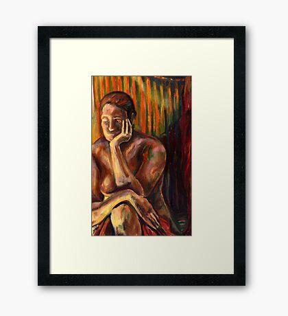 Figure Painting 1 Framed Print