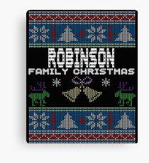 Robinsons Ugly Family Christmas Gift Idea Canvas Print