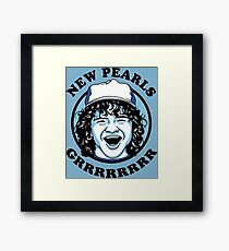 New Pearls Framed Print