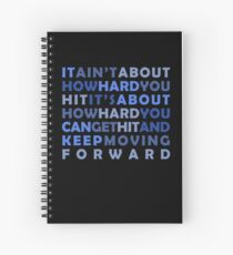 Keep Moving Forward Spiral Notebook