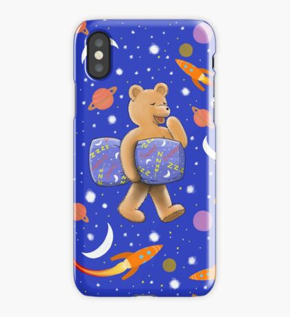 Sweet dreams sleepy bear iPhone Case