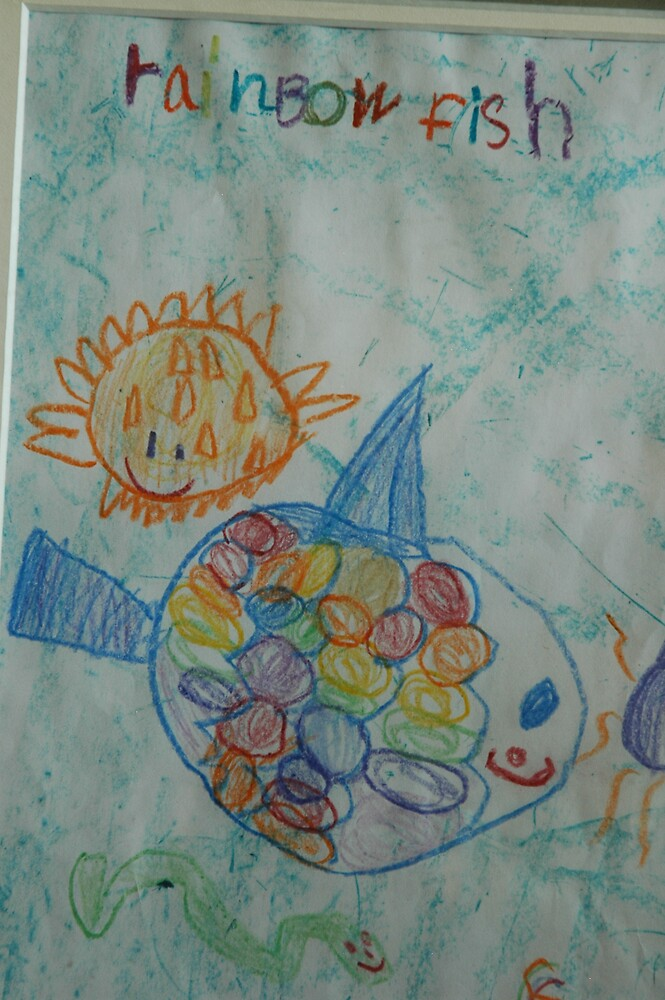 Rainbow Fish by Lisa Ouillette