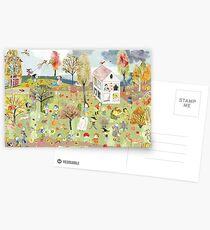Autumn Hidden Object - Autumn Postcards