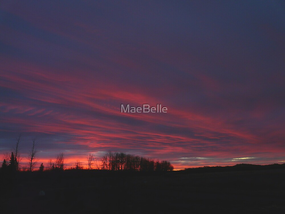 Second in My Sunrise Series by MaeBelle