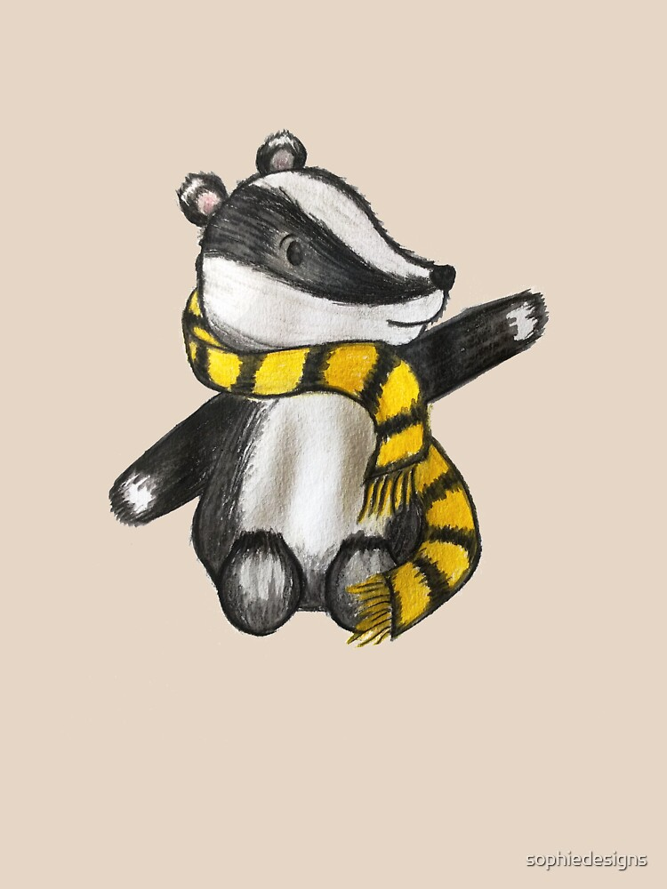 Badger Mascot by sophiedesigns