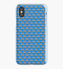 Colourful clothing restraints  iPhone Case