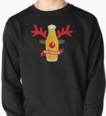 Reinbeer Christmas Pun Costume Wordplay Gift Pullover