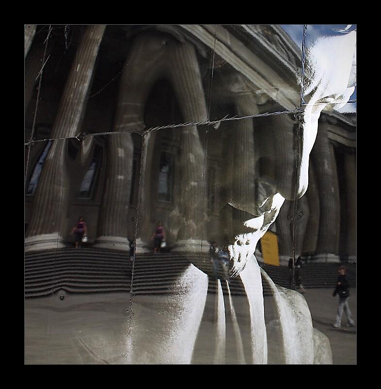 British Museum Reflection by Thamer Al-Tassan