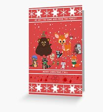South Park Woodland Critter Christmas.South Park Greeting Cards Redbubble
