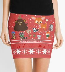 Woodland Critters Mini Skirt