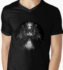 WOW- Sylvanas WIndrunner with out Wallpaper T-Shirt mit V-Ausschnitt