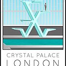 Lido Poster Crystal Palace by Steven House