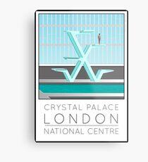 Lido Poster Crystal Palace Metal Print