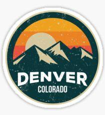 Denver Colorado / I Love Denver Sticker
