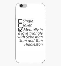 Sebastian Stan and Tom Hiddleston iPhone Case