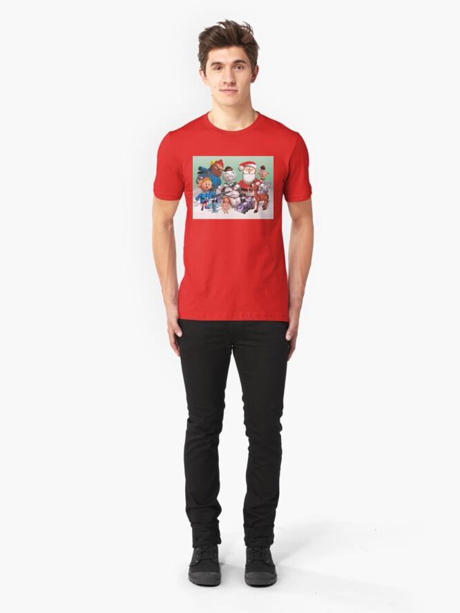 Alternative Ansicht von Urlaubs Spaß Slim Fit T-Shirt