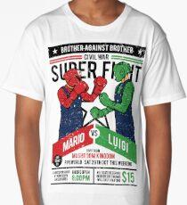 Mario vs Luigi Long T-Shirt