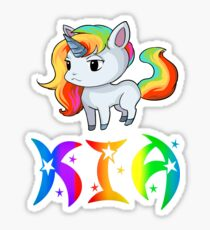 Kia Unicorn Sticker