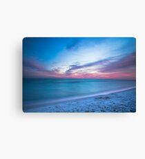 Lienzo If By Sea - Atardecer en la playa cerca de Destin Florida