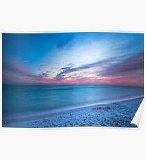 If By Sea - Sunset on the Beach Near Destin Florida Poster