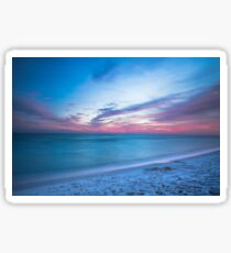 If By Sea - Sunset on the Beach Near Destin Florida Sticker