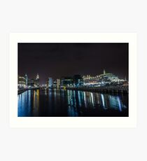 Queen Victoria from the Princes Dock Art Print