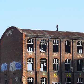 Girl on the Roof 01.0, Lost Places  by RaSch