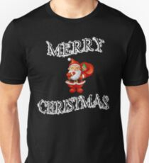 Merry Christmas Cute/Lovely Gift - Santa Claus Smiling - Awesome Present T-Shirt