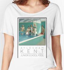 Lido Poster Aylesham Junior School Women's Relaxed Fit T-Shirt
