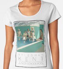 Lido Poster Aylesham Junior School Women's Premium T-Shirt