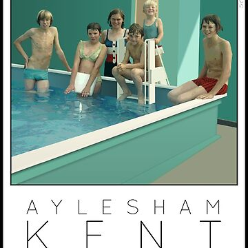 Lido Poster Aylesham Junior School by stevenhouse