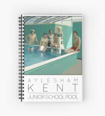 Lido Poster Aylesham Junior School Spiral Notebook